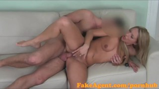 Amateur blonde jizz and saucy over sweet ass gets all fakeagent pussy her amateur casting
