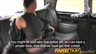 With faketaxi has babe sex taxi driver tits big deepthroat public