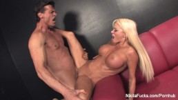 Nikita Von James gets fucked by Nick Manning
