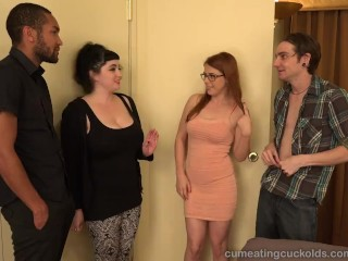 Penny pax and her husband share a big black cock