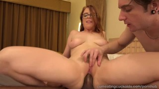 Penny Pax And Her Husband Share A Big Black Cock  masturbation cuckold cleanup glasses reverse cowgirl cuckold blonde blowjob cumshot cock sharing handjob bisexual cumeatingcuckolds interracial brunette petite 3some threesome facial