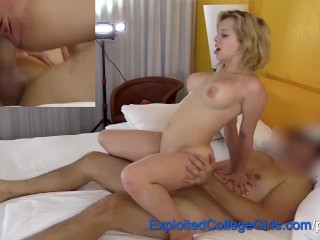 Fun Big Tit Amateur Marilyn Fucked and Facialed