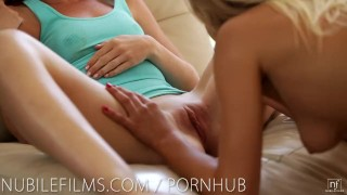 Preview 6 of Nubile Films - Hot lesbians scissoring