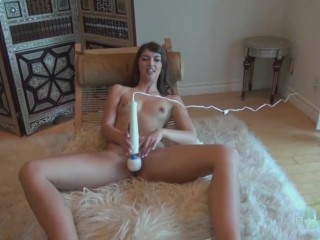 Free Celeste Star Videos Susan Ayn Takes The Hitachi To Her Pussy, Babe Masturbation Pornstar Czech