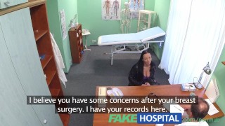 Preview 1 of FakeHospital Patient seduces doctor to cover her medical bills