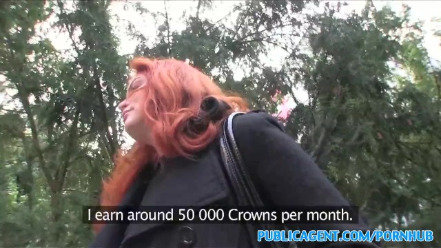PublicAgent Redhead fucked in the boiler room reality, real, amateur, sex f