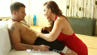 HD - PureMature Sexy cougar Janet Mason is fucked by her boy