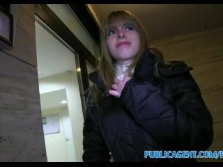 PublicAgent Sexy Bianca fucks a stranger in his hotel room