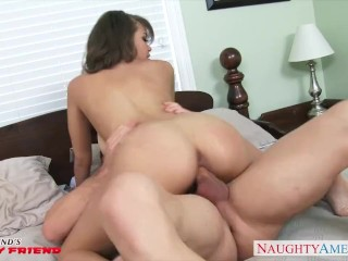 Busty brunette babe Cassidy Banks gets fucked