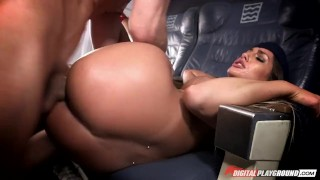 August Ames in, DP Star Sex Challenge Up pussy