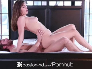 HD – Passion-HD Holly Michaels takes a thick dick in her drenched pussy