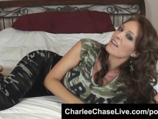 Sex Kitten Hell Cheats Fucking, Busty MILF Charlee Chase Looks Hot In Camo Big Tits Brunette MILF Po