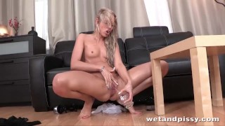 Blonde girls just love to pee watersports compilation