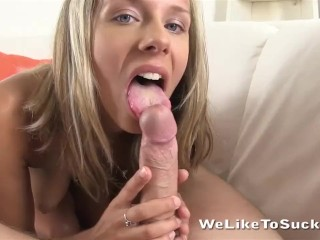 Blowjob compilation with seven girls