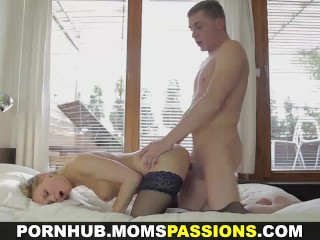 Moms Passions – Sealing the deal with sex