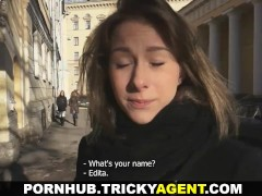 Tricky Agent - Filming mutual pleasure