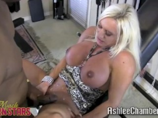 Pussy Pounded Into Submission Ashlee Chambers Fucks A Bbc, Blonde Fetish Interracial