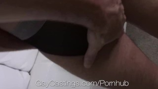 HD - GayCastings Newcomer wants to be fuck on camera by big dicks Teen natural