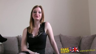 FakeAgentUK Hot bird with latex fetish fucked by fake casting agent  masturbation british amateur blowjob cumshot pov hardcore reality doggystyle big boobs fakeagentuk interview bubble butt real sex casting audition