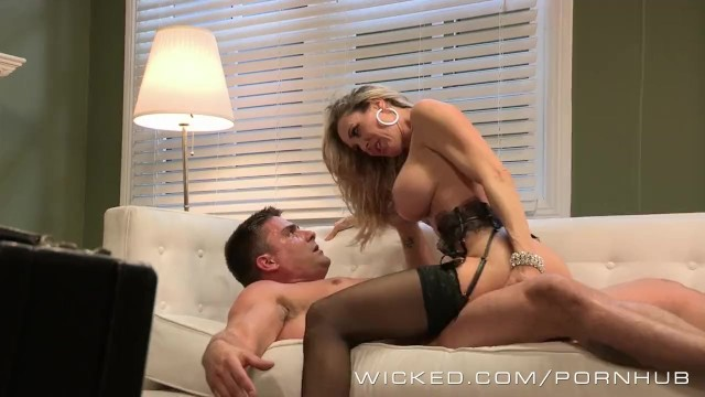 Free milf facial pictures Wicked - sexy milf brandi love takes a big load