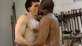 Woodshop  sex hot sex in a shop job daddy