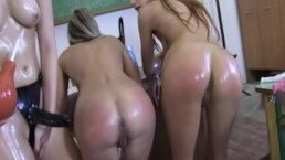 Schoolgirls Punished
