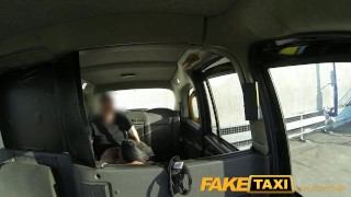 FakeTaxi Hot brunette needs a good hard fucking  point of view british amateur blowjob hot public pov english faketaxi hardcore spycam car reality dogging rough gagging camera deep throat
