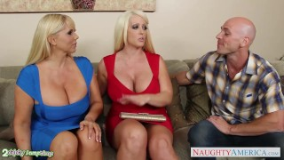 Busty in alura threesome fuck jenson blonde hardcore