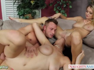 Anal Openings Bisexual Natalia Starr Fuck In Threesome