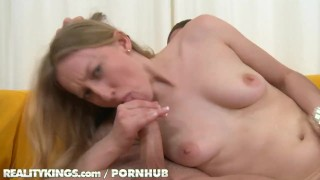 Reality Kings - Young blonde shows off her bush Bbc amateur