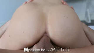 HD - Passion-HD Passionate morning sex with sexy Kendall Karson Babe doggystyle