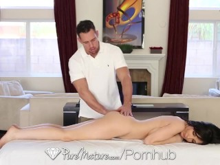 HD - PureMature Diana Prince is fucked in the ass by the masseur