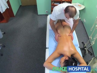 FakeHospital Nurse gets more then a massage from the doctor