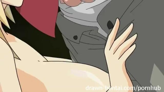 K visite. Porno di Tsunade di Naruto.