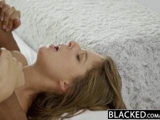 BLACKED California Girl Presley Hart Worships Huge Black Dick