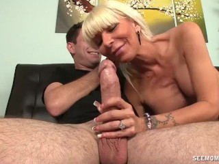 What Comes Out Of Your Vagina Hot And Horny Milf Sucking, Big Dick Blowjob Milf