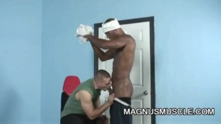 Park Wiley and Billy Long: Black On White Anal Exercise Reverse group