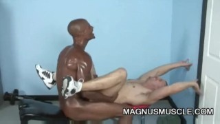Park Wiley and Billy Long: Black On White Anal Exercise Boypornpass bedroom