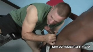 Park Wiley and Billy Long: Black On White Anal Exercise Tight sex