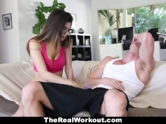 TheRealWorkout – Horny Teen Ava Taylor Fucks Her Coach