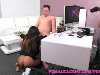 Preview 6 of FemaleAgent. Sexy agents asshole licked and her perfect pussy fucked