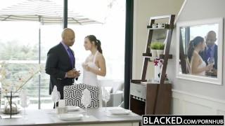 BLACKED Aidra Fox Takes a Monster Black Cock Teasing brit