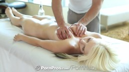 HD - PornPros Hardcore massage for a pretty blonde