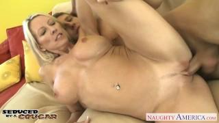 Cougar starr emma fucking busty facial cock