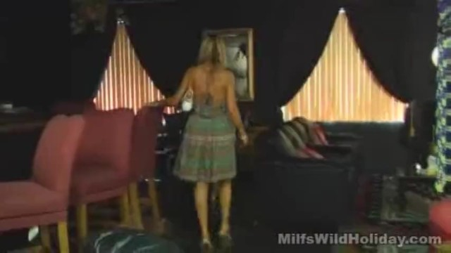 Milf Morgan Has A Holiday Fling