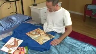 Masturbating guy straight dirty wanking orgame