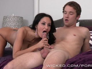 Free Porn Teen Gf Amateur Wicked - Stepmom takes control of big dick