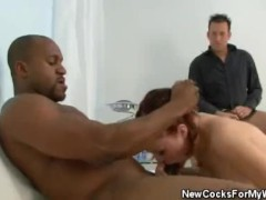 Wifey Gets Banged While Husband Watches