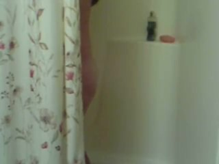 Preview 1 of STEP DAD GETS CAUGHT SPYING ON DAUGHTER IN SHOWER