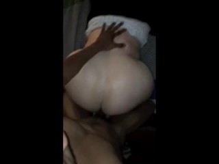 Huge white booty BBC 1